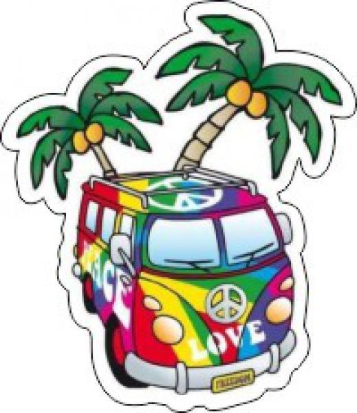 Hippies Stickers