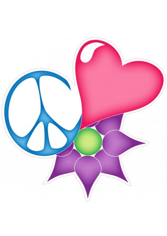 καρδούλα, σημα ειρήνης, λουλουδη
