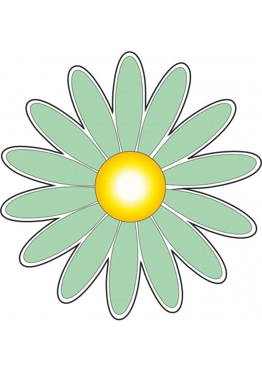 Λουλούδι ανοιχτό πράσινο