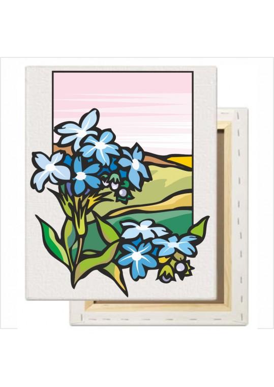 θέμα με λουλούδια