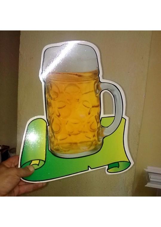 μπυρες - beers Περιγραμικά κομμένο P.V.C.