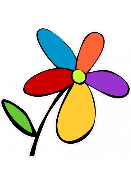 πολυχρωμο λουλουδι