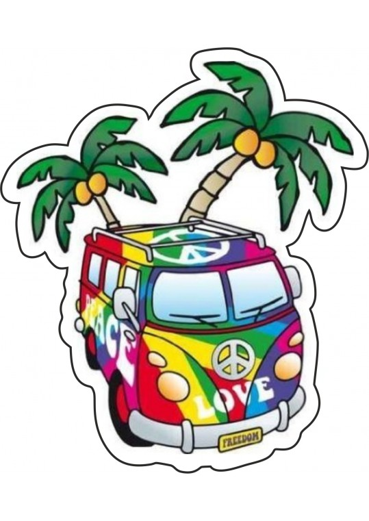 Hippies van