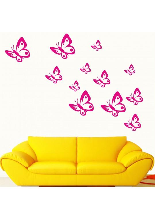 σετ πεταλούδες