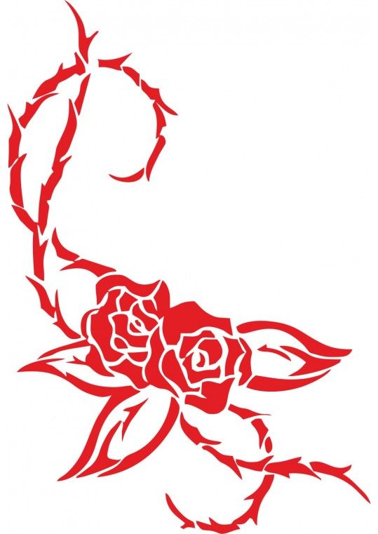 Wall Sticker roses