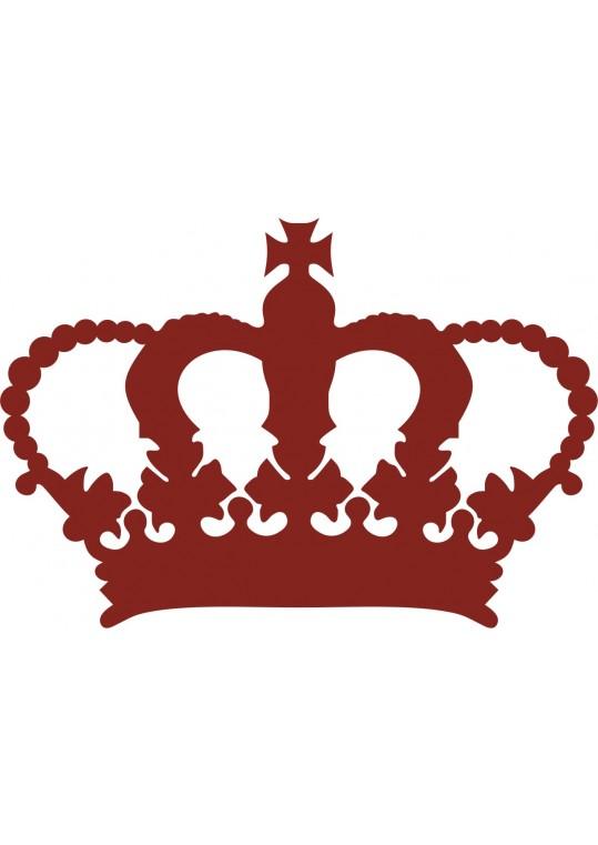 αυτοκόλλητο στέμμα βασιλιά