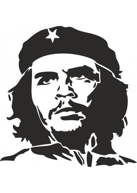 Αυτοκολλητο τοιχου Che Guevara