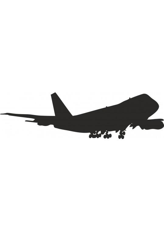 Αυτοκολλητο τοιχου αεροπλανο
