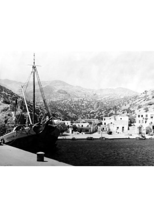 Agia Galini port