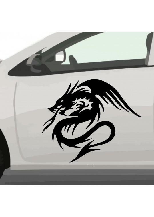 china tribal car draw